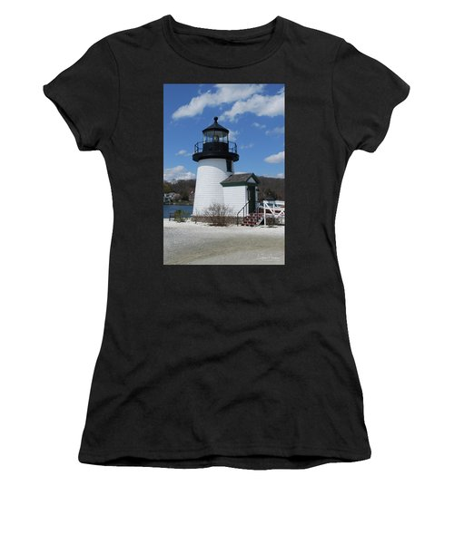 Mystic Lighthouse Women's T-Shirt (Athletic Fit)