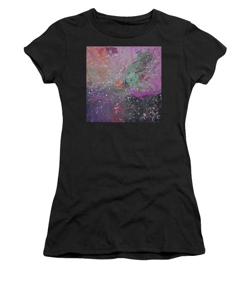 Women's T-Shirt featuring the painting Mystical Dance by Michael Lucarelli