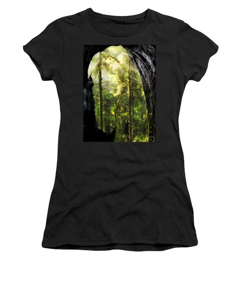 Mystical Forest Opening Women's T-Shirt (Athletic Fit)