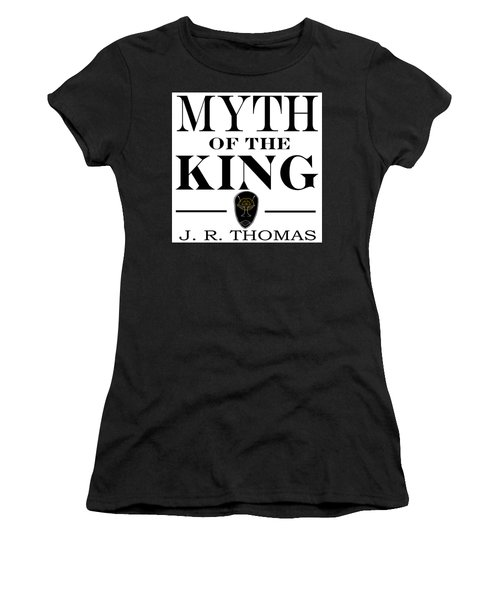 Women's T-Shirt featuring the digital art Myth Of The King Cover by Jayvon Thomas