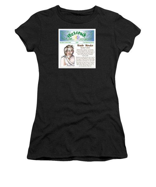 Real Fake News Society Column 1 Women's T-Shirt