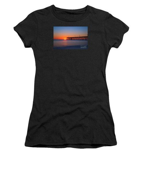 Nags Head Fishing Pier Sunrise Women's T-Shirt