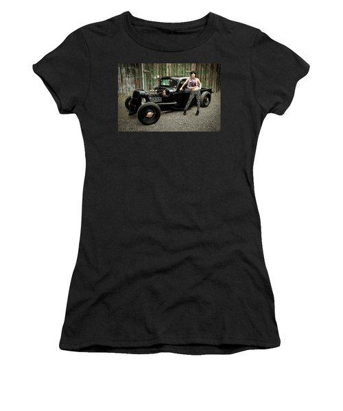 Nancy V Women's T-Shirt (Athletic Fit)