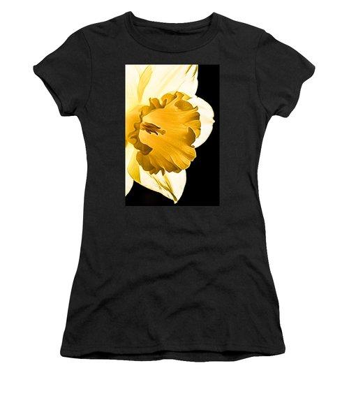 10550 Narcissus Carlton Grossblumig Women's T-Shirt