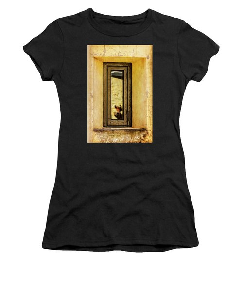 Narrow Reflections Women's T-Shirt (Athletic Fit)