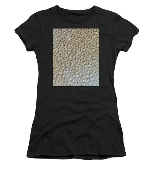 Nasa Image- Star Dunes, Algeria-2 Women's T-Shirt (Athletic Fit)
