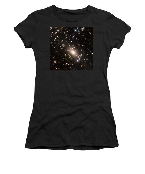 Women's T-Shirt (Junior Cut) featuring the photograph Nasa's Hubble Looks To The Final Frontier by Nasa