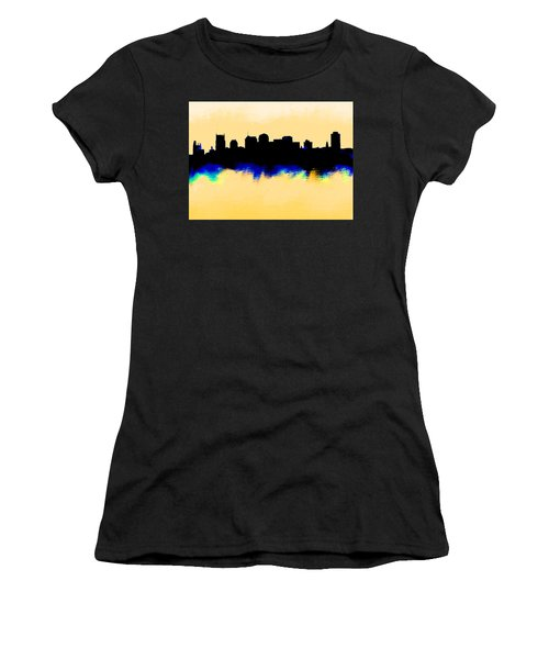 Nashville  Skyline  Women's T-Shirt (Athletic Fit)