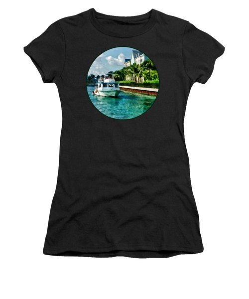 Bahamas - Ferry To Paradise Island Women's T-Shirt (Athletic Fit)