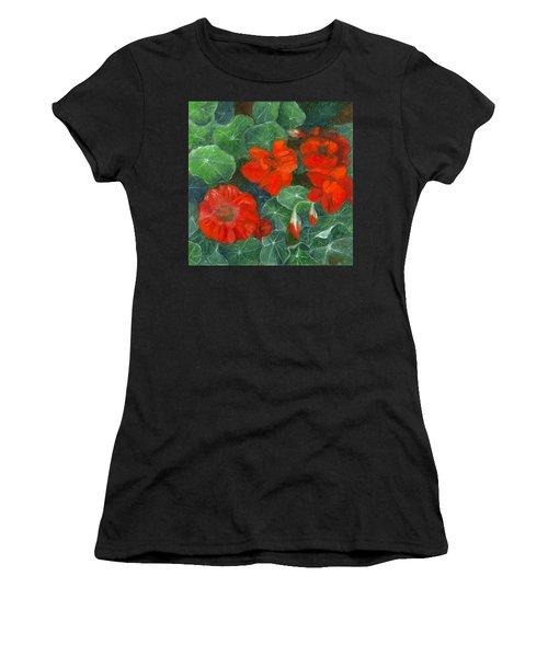 Nasturtiums Women's T-Shirt