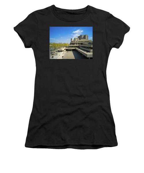 Women's T-Shirt featuring the photograph National Theatre by Stewart Marsden