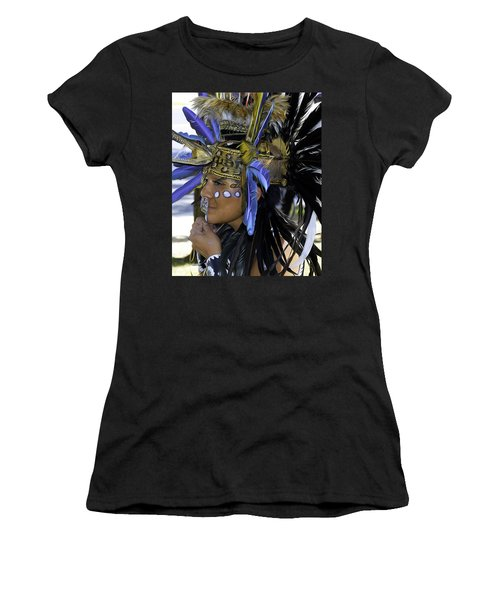 Native Blue Women's T-Shirt (Athletic Fit)