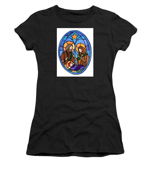 Nativity Women's T-Shirt (Athletic Fit)