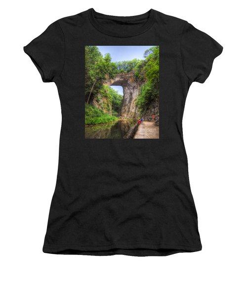 Natural Bridge - Virginia Landmark Women's T-Shirt