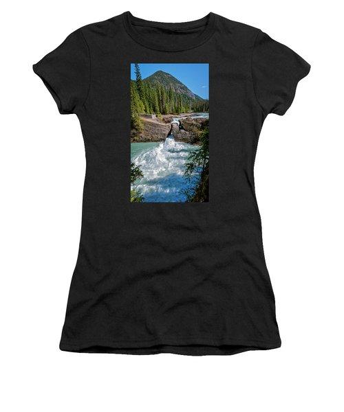 Natural Bridge Yoho National Park Canada Women's T-Shirt