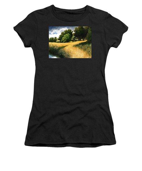 Nature Walk Ridgefield Washington Women's T-Shirt
