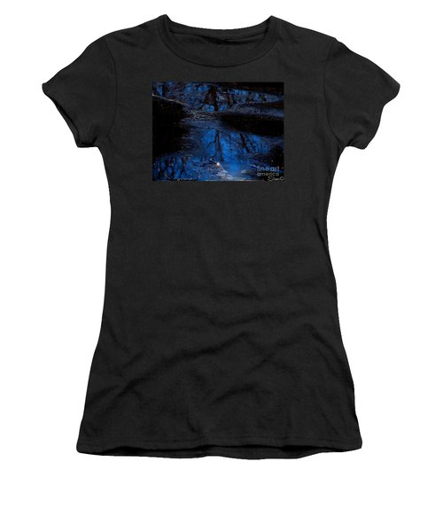 Natures Looking Glass Women's T-Shirt (Athletic Fit)