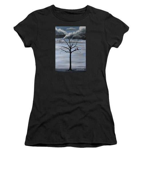 Nature's Power Women's T-Shirt (Athletic Fit)