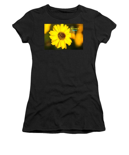 Nature's Smile  Women's T-Shirt (Junior Cut) by Joseph S Giacalone