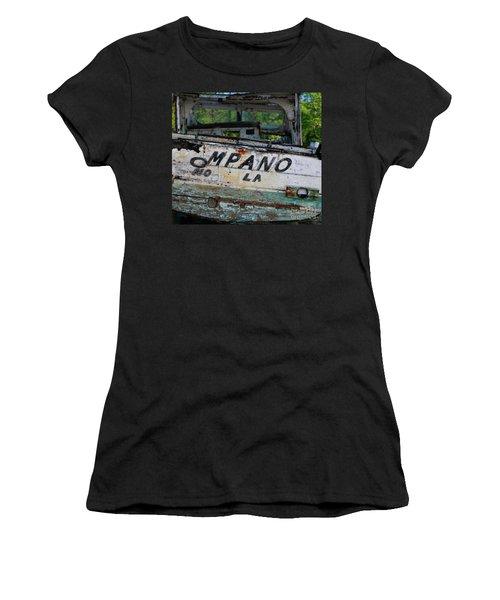 Women's T-Shirt (Junior Cut) featuring the photograph Nautical Miles by Lori Mellen-Pagliaro