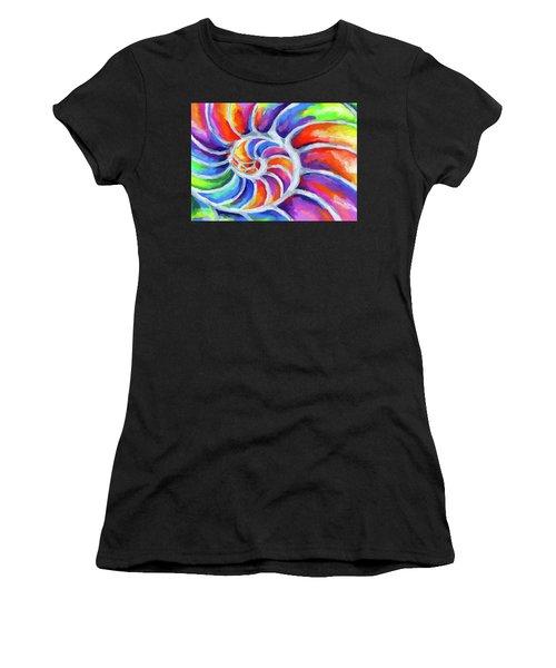 Nautilus Curves Women's T-Shirt (Athletic Fit)
