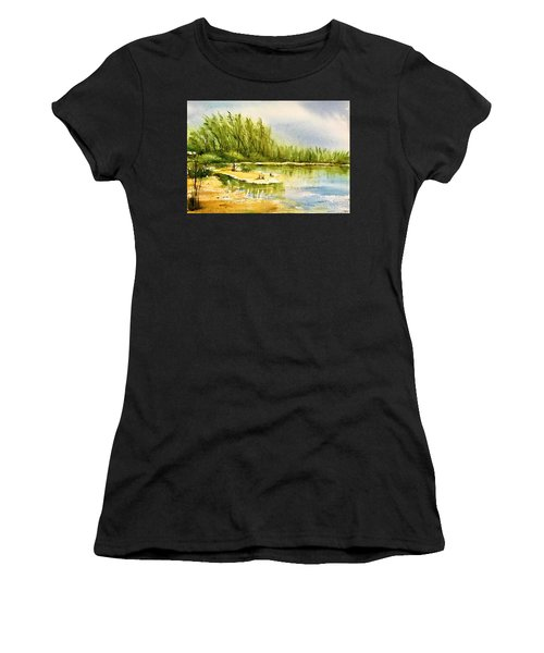 Near The Lake 4 Women's T-Shirt