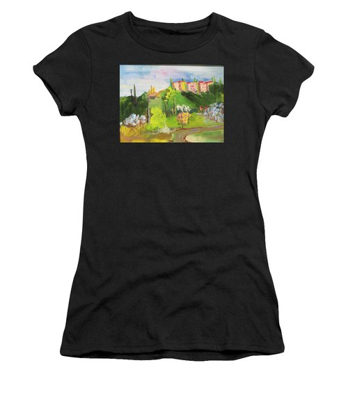 Near Tuscany Women's T-Shirt (Athletic Fit)