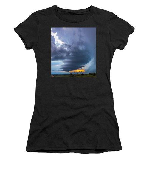 Nebraska Supercell 025 Women's T-Shirt