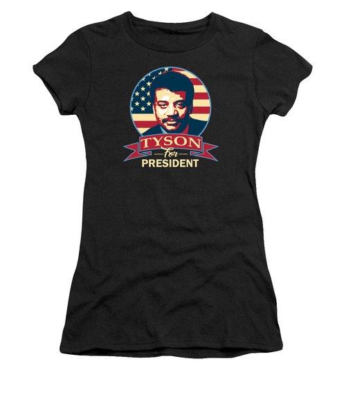 Neil Degrasse Tyson For President Women's T-Shirt