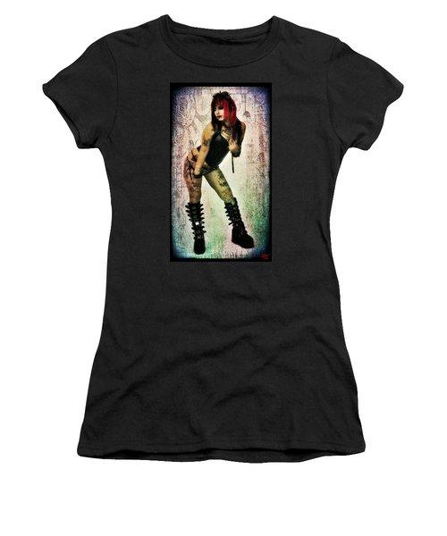 Neko 1 Women's T-Shirt (Athletic Fit)