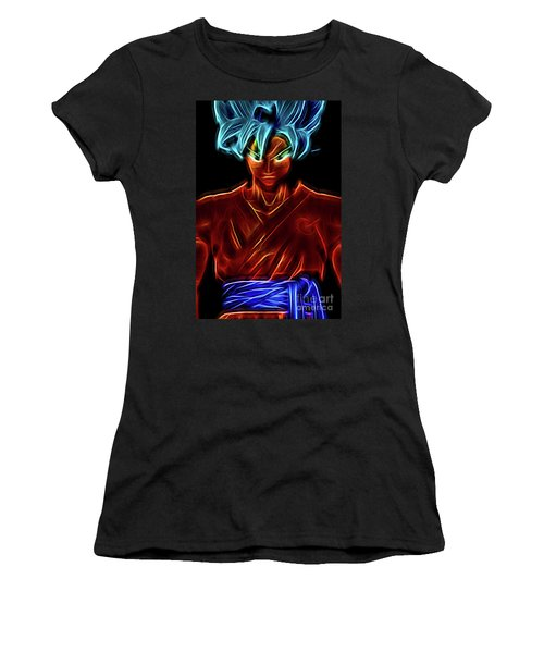 Neon Ss God Goku Women's T-Shirt