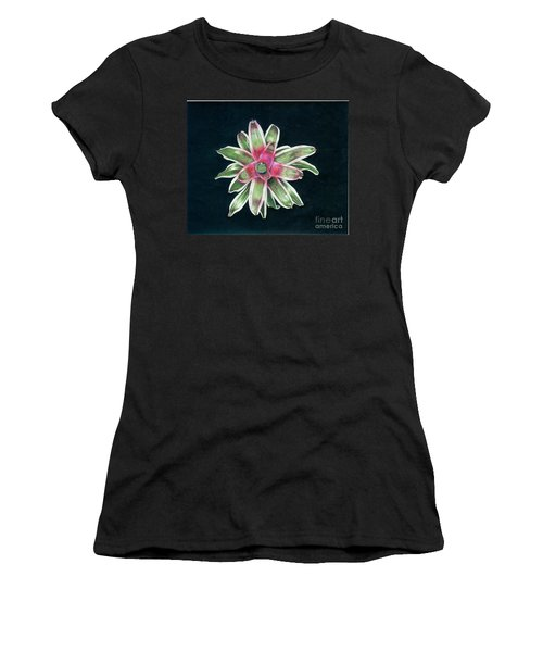 Neoregelia Terrie Bert Women's T-Shirt (Athletic Fit)