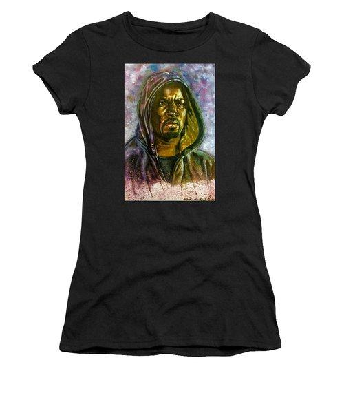 Netflix Luke Cage Women's T-Shirt (Junior Cut) by Darryl Matthews