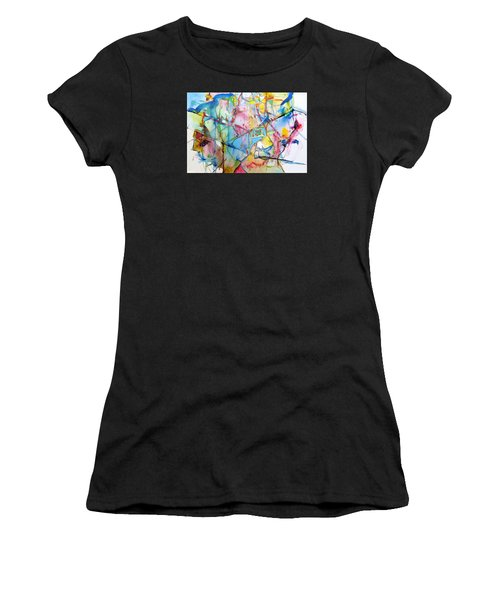 Neuro Roads Women's T-Shirt (Athletic Fit)