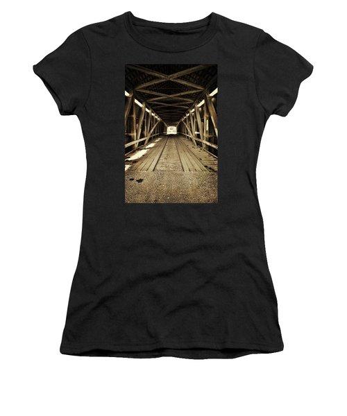 Nevins Bridge Women's T-Shirt (Junior Cut) by Joanne Coyle