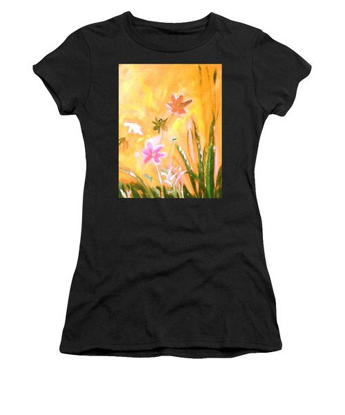 New Daisies Women's T-Shirt (Athletic Fit)