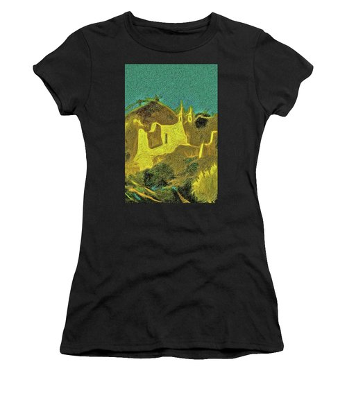 New Mexico Skyline Women's T-Shirt (Athletic Fit)
