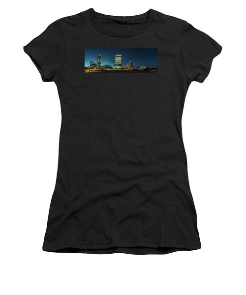 New Milwaukee Skyline Women's T-Shirt (Athletic Fit)