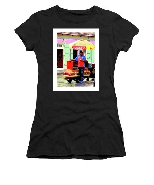 New Orleans Hotdog Vendor Women's T-Shirt