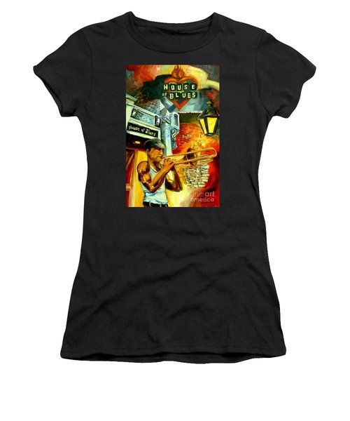 New Orleans' House Of Blues Women's T-Shirt (Athletic Fit)