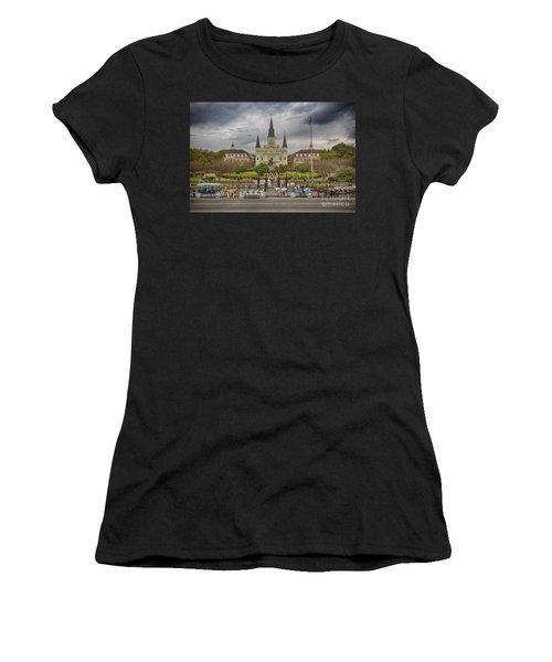 New Orleans Jackson Square Women's T-Shirt