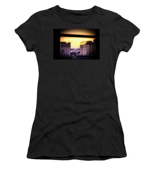 New Orleans Window Sunrise Women's T-Shirt