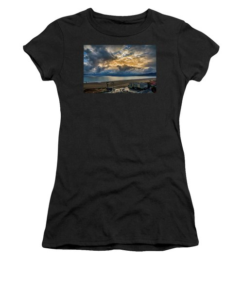 New Sky After The Rain Women's T-Shirt (Athletic Fit)