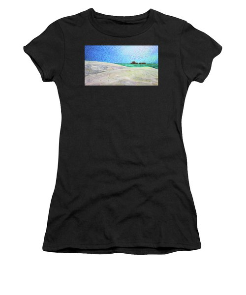 New Smyrna Beach As Seen From A Dune On Ponce Inlet Women's T-Shirt