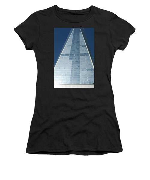 New World Trade Center Women's T-Shirt (Athletic Fit)