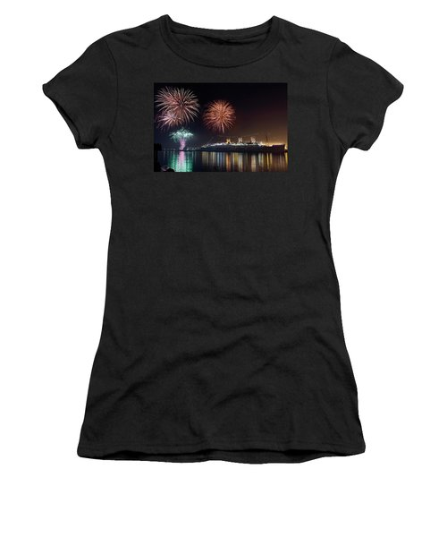 New Years With The Queen Mary Women's T-Shirt