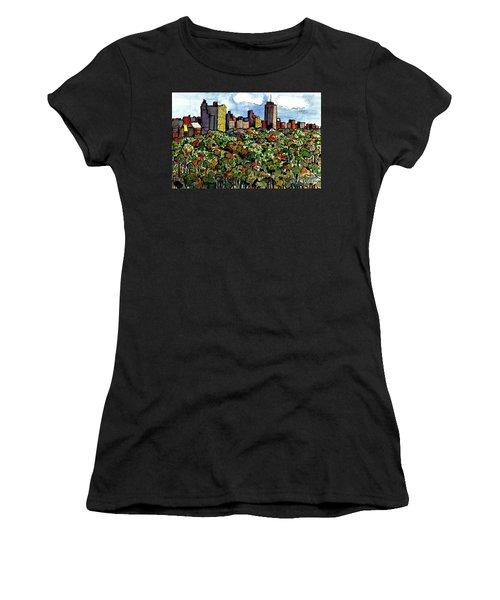 New York Central Park Women's T-Shirt (Junior Cut) by Terry Banderas