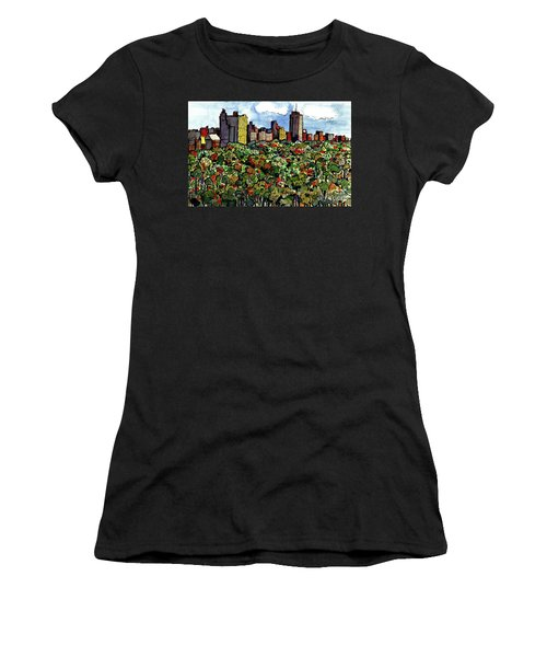New York Central Park Women's T-Shirt (Athletic Fit)