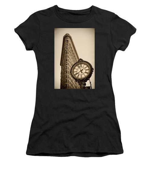 Women's T-Shirt featuring the photograph New York Flatiron by Juergen Held