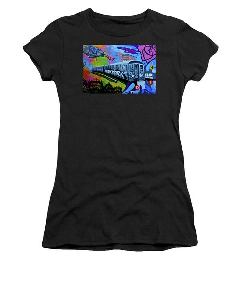 New York Train Women's T-Shirt